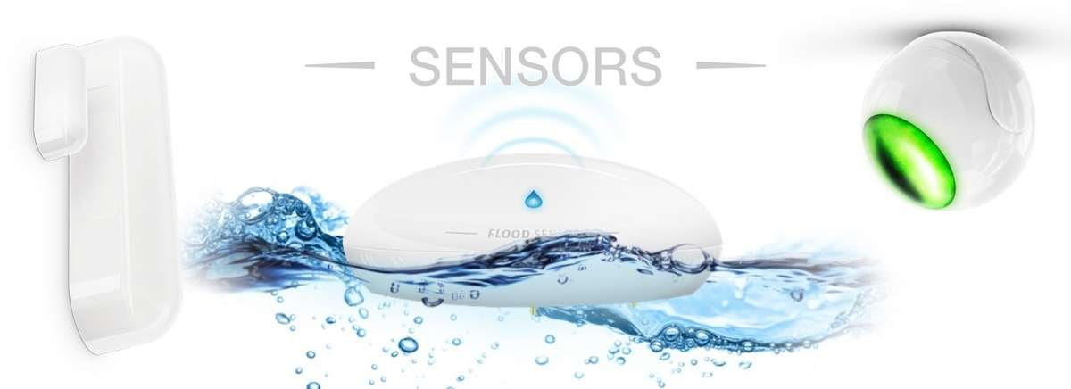 W4S HOME AUTOMATION WITH FIBARO SENSORS