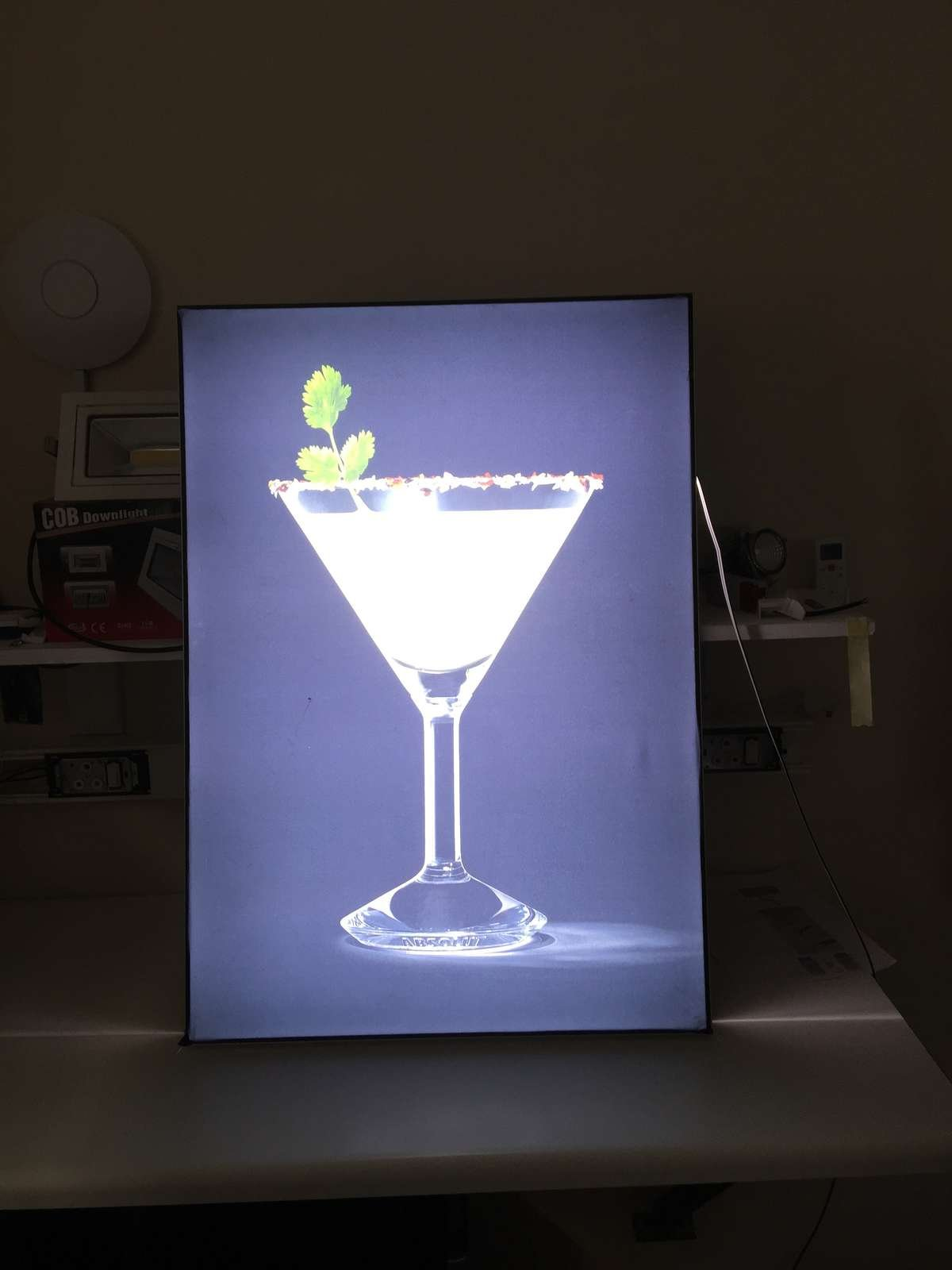 fabric light box