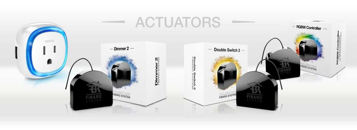 W4S Home Automation with Fibaro Actuators