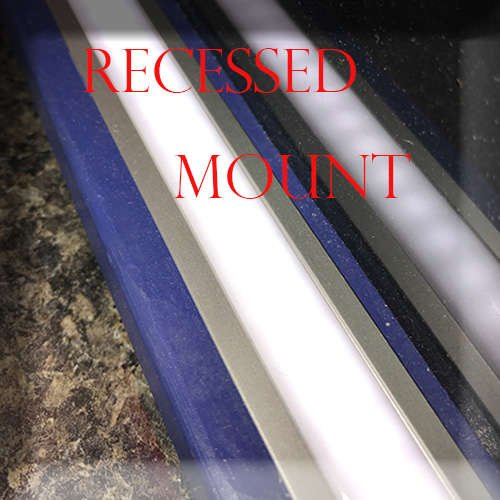 recessed led channel