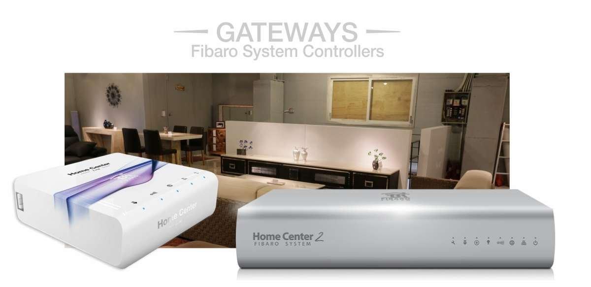 Fibaro GAteways Home center W4S Home Automation