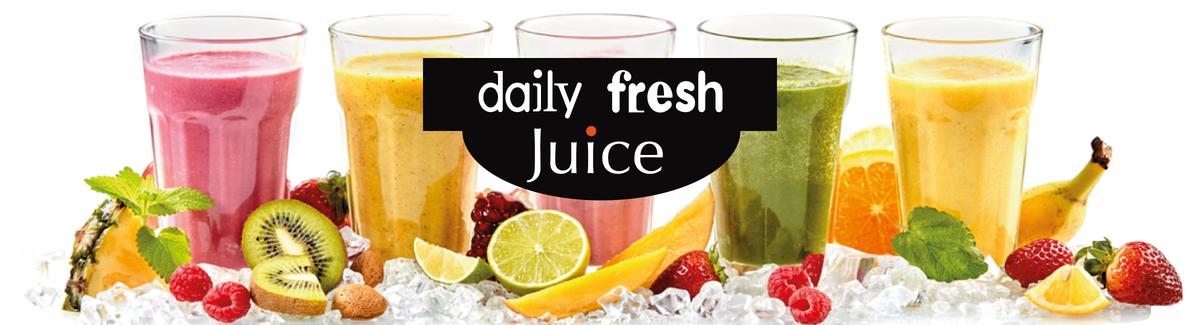 Verse vruchtensappen en smoothies