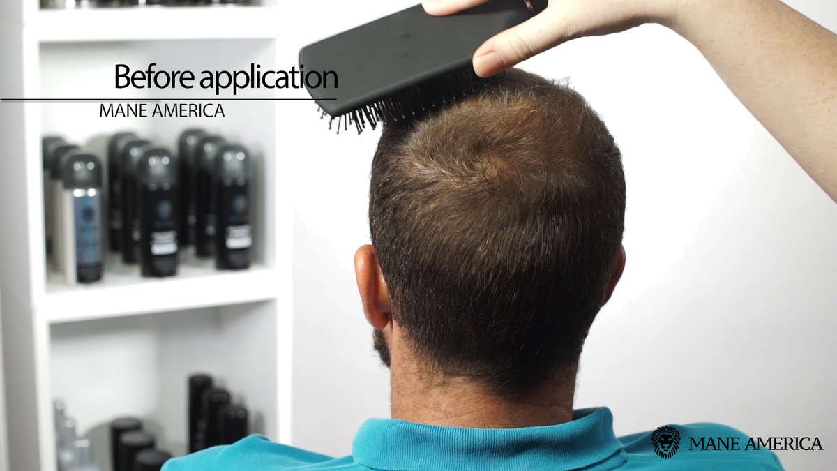 How To Apply Mane Hair Thickening Spray
