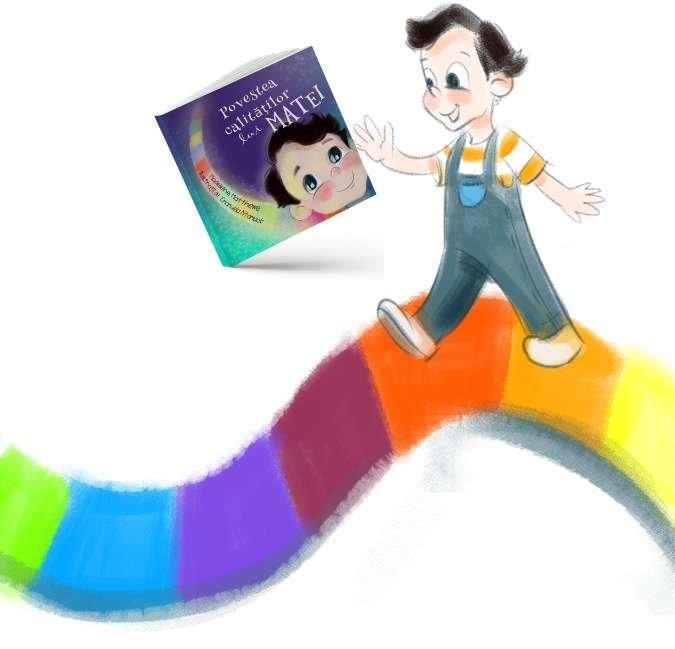 carte personalizată povestea calitătilor