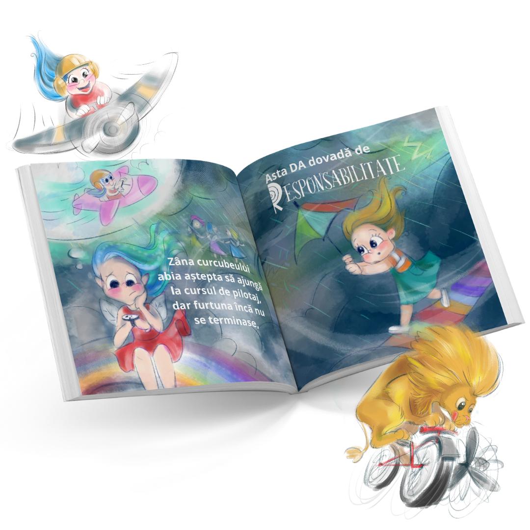 carte personalizata povestea calitatilor