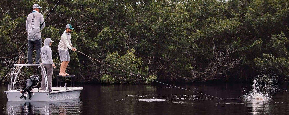 florida fly fishing, catching tarpon