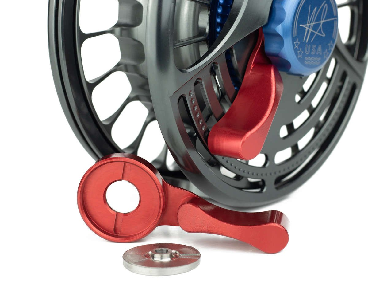 Seigler lever drag saltwater fly reel with the best drag for saltwater species.