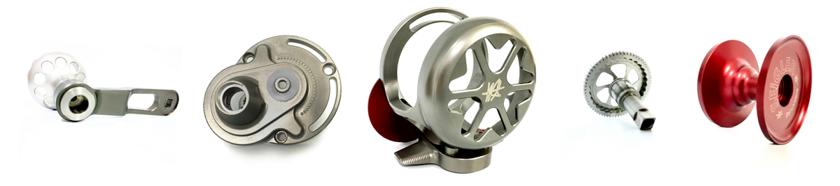 SEIGLER SGN SIGNATURE MACHINED AND THE LIGHTEST LEVER DRAG REEL TO HIT THE MARKET. MADE IN THE USA #FISHINGREEL #EXTREMEREELS #LIGHTEST #SMALLEST #LEVERDRAGREEL