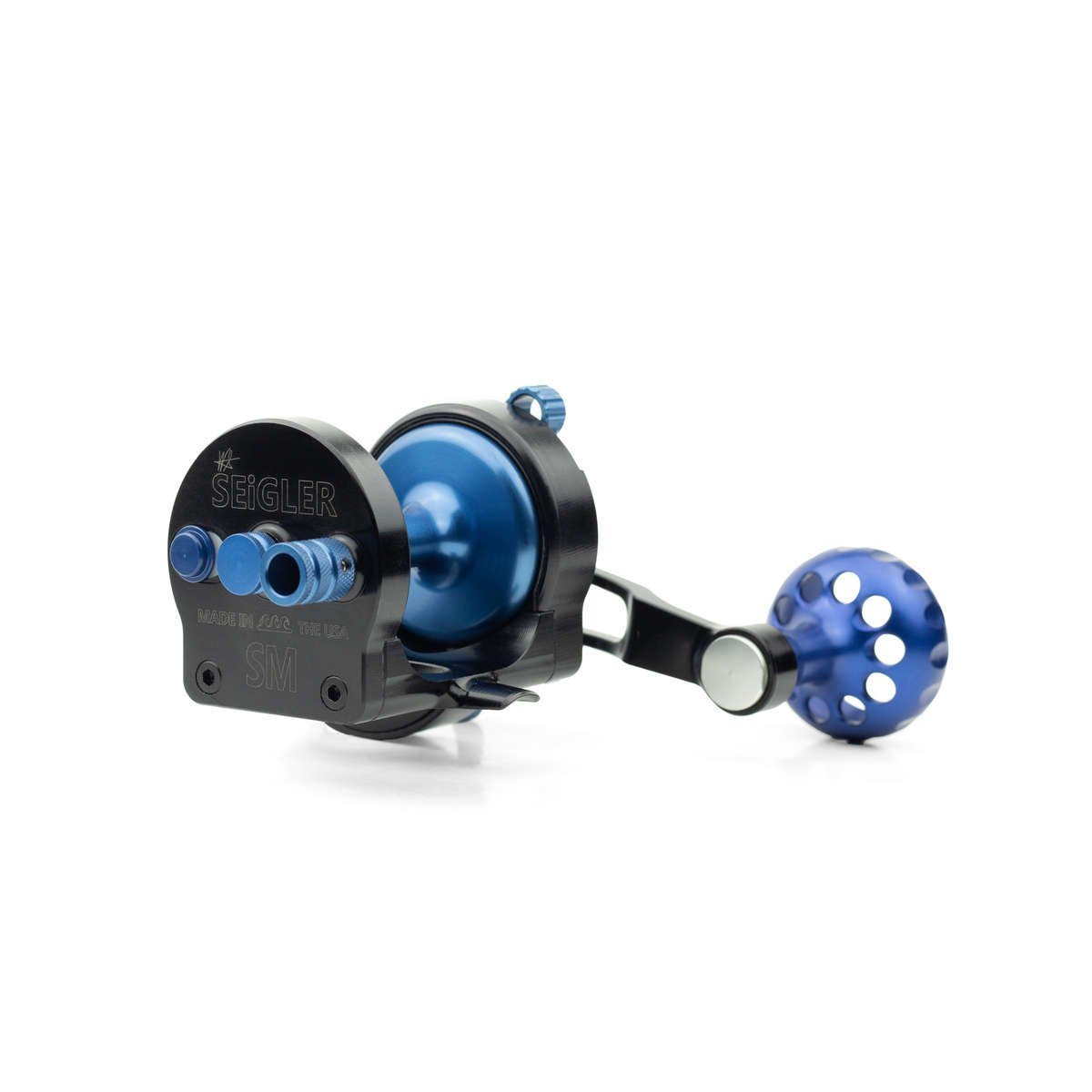 conventional fishing reel made by seigler flishin reels