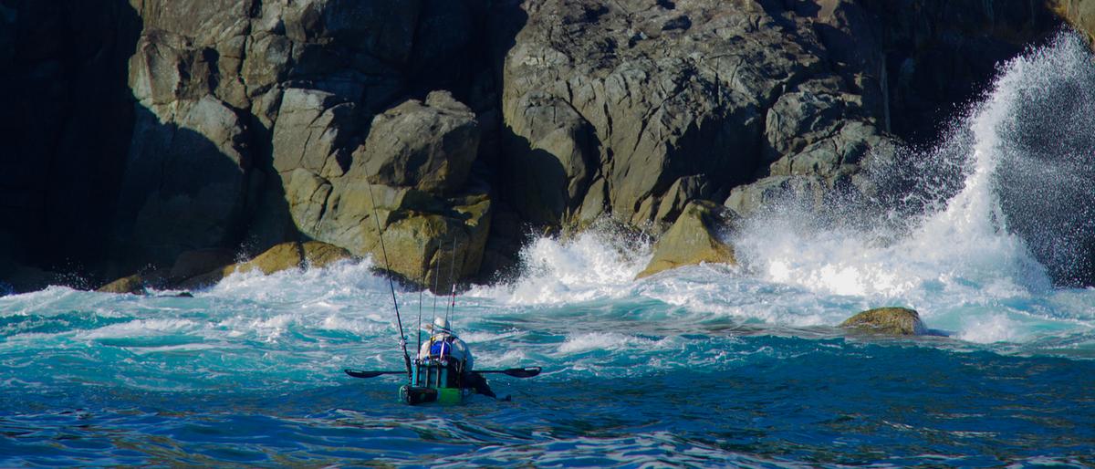 Kayak fishing, Fishing reels made for kayak fishermen,  kayak fishing reel , made in USA,  Jim Sammons from the Kayak fishing show