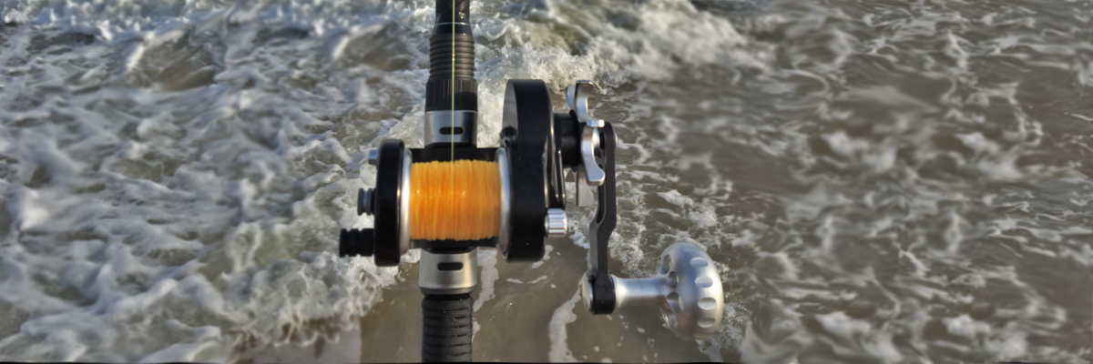 SM SEIGLER fishing reel built for the surf. This beach and pier fishing reel compares to no other. Star drag conventional reel made in Virginia
