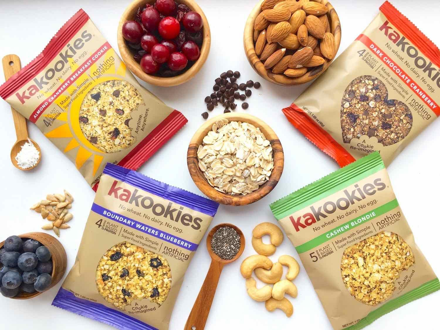 Kakookies Grab and Go Superfood Energy Cookies with Premium Clean Superfood Ingredients