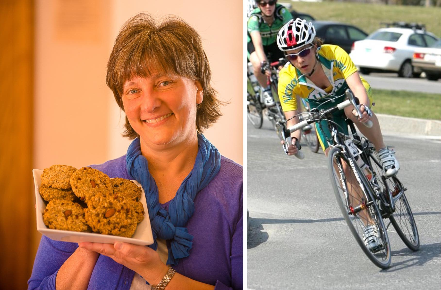 The story of Kakookies - mom bakes healthy energy cookies for daughters cycling teammates