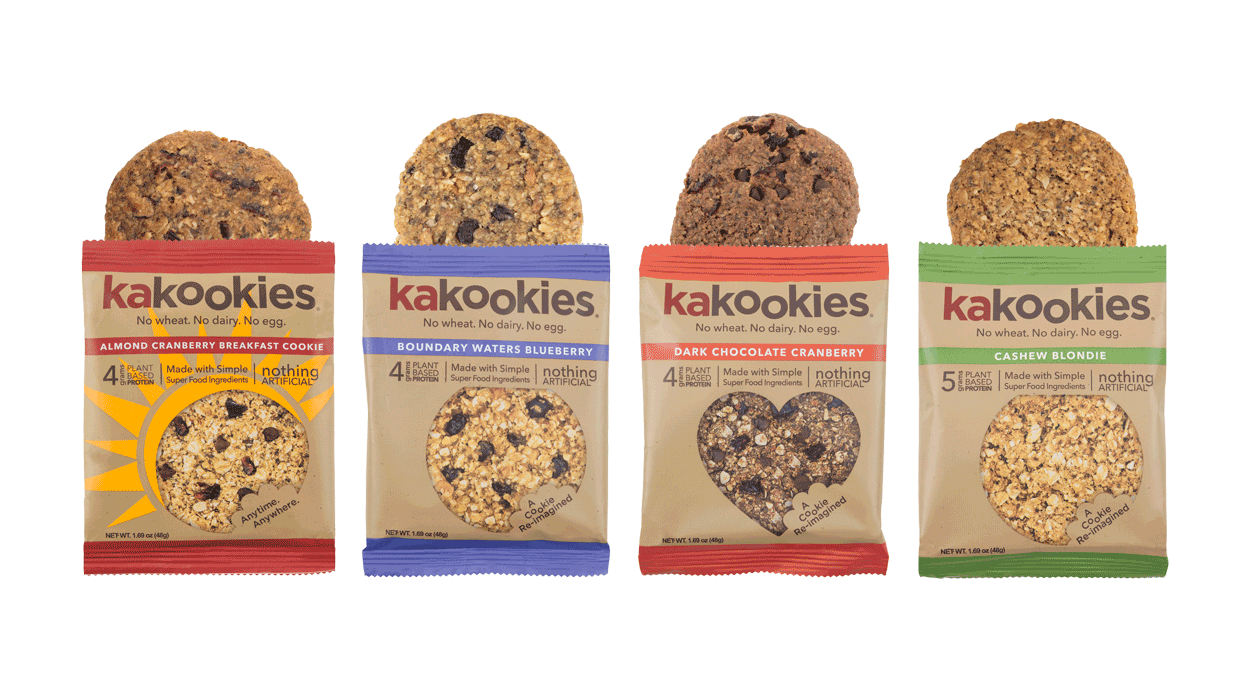 Kakookies Delicious Grab and Go Gluten Free Superfood Energy Snacks