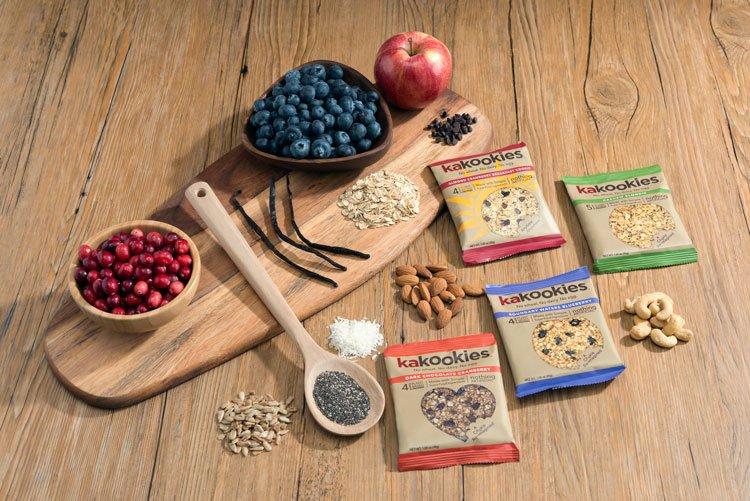 Kakookies Grab and Go Superfood Energy Cookies with Premium Clean Superfood Ingredients