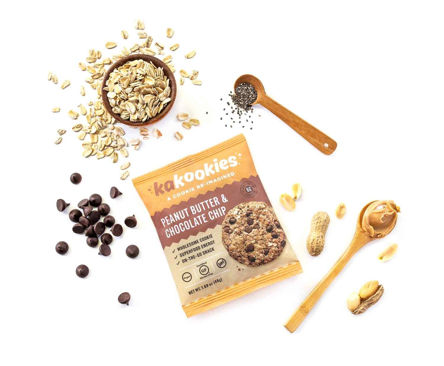 Kakookies delicious soft baked energy cookies with plant based protein