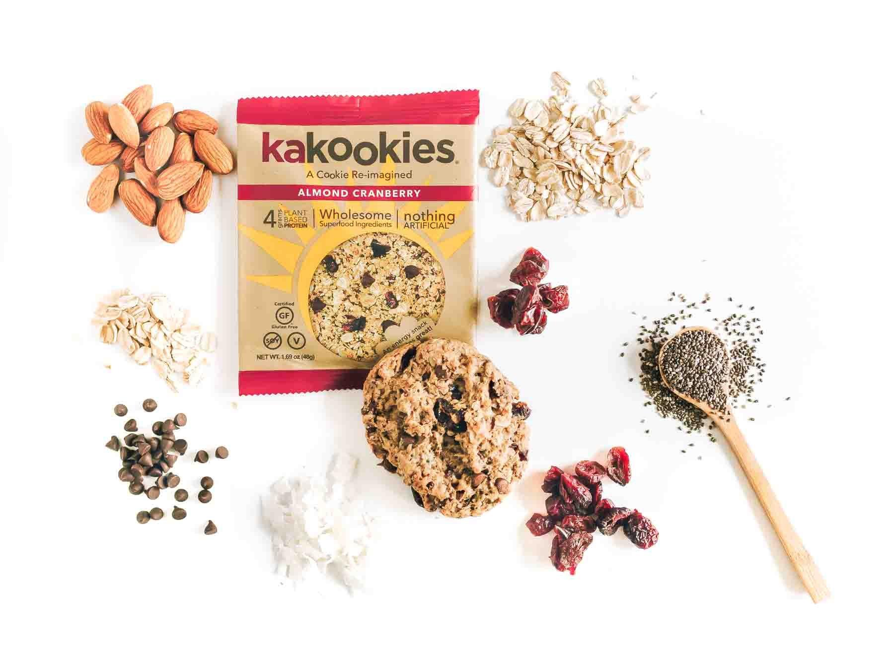 Kakookies Superfood Snack Cookies with no artificial sweeteners, flavors, or preservatives