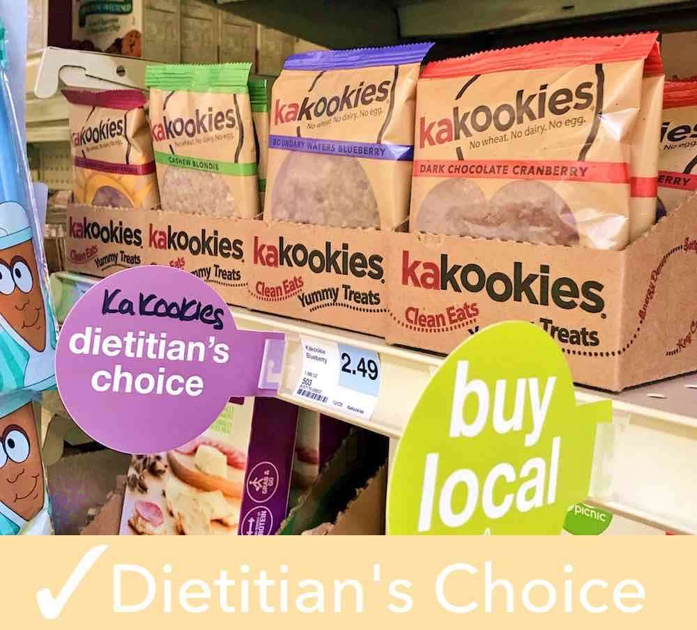 Kakookies grab and go superfood vegan gluten free energy snack cookies rated dietitians choice by Hyvee