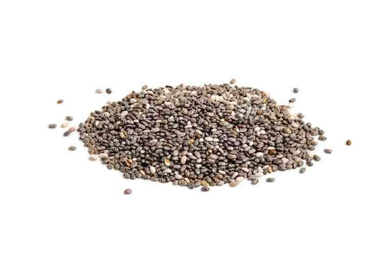 Antioxidant rich chia seeds, a powerful superfood