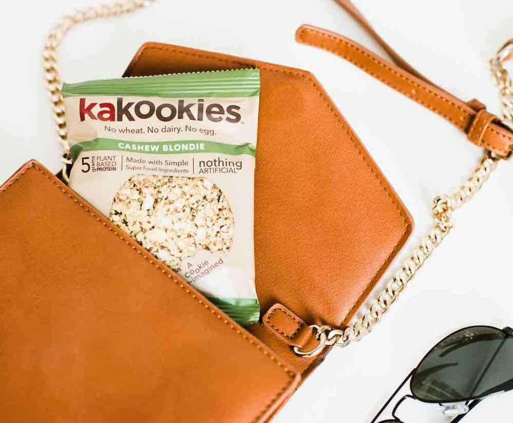 Kakookies Grab and Go Delicious Superfood Vegan Gluten Free Energy Oatmeal Snack Cookies