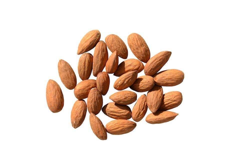Heart healthy almonds