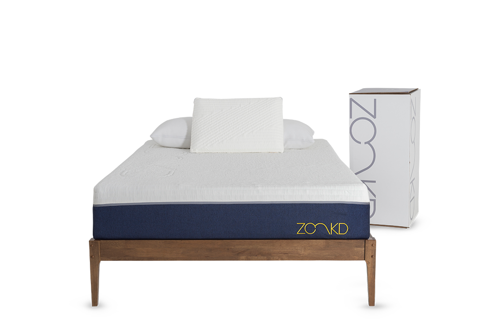 talalay latex mattress and pillow bundle - zonkd
