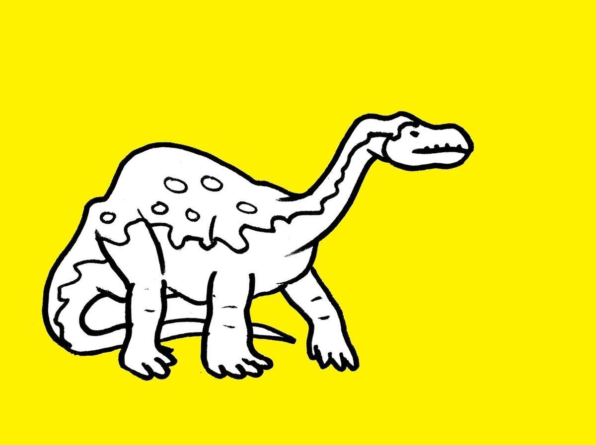 eatsleepdoodle dinosaur