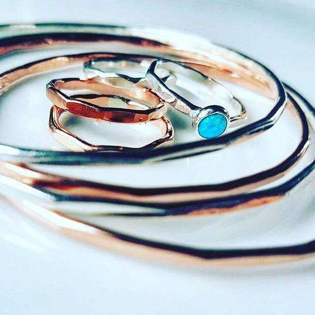 Silver & Copper Jewellery by Lagoon