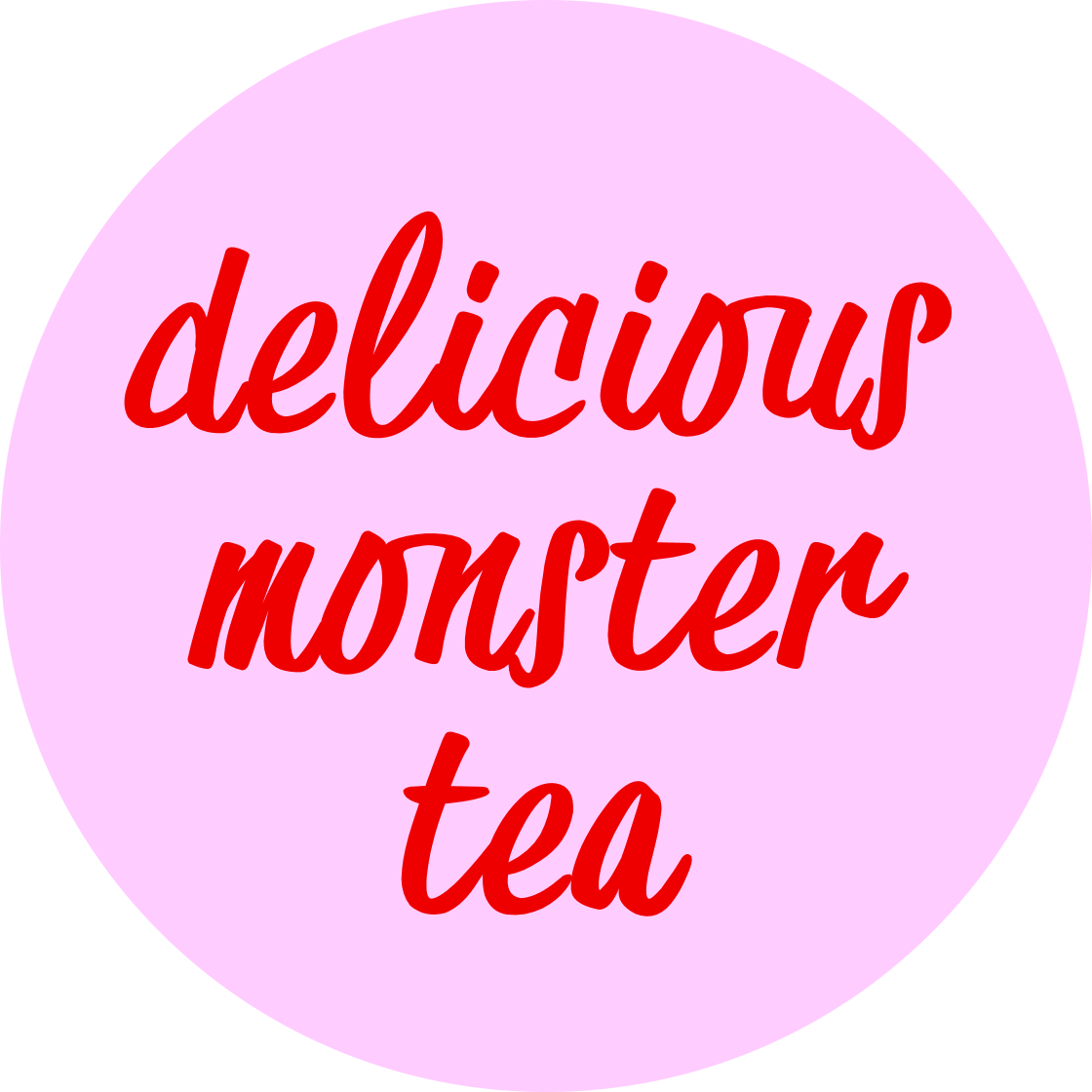 Delicious Monster Tea Logo