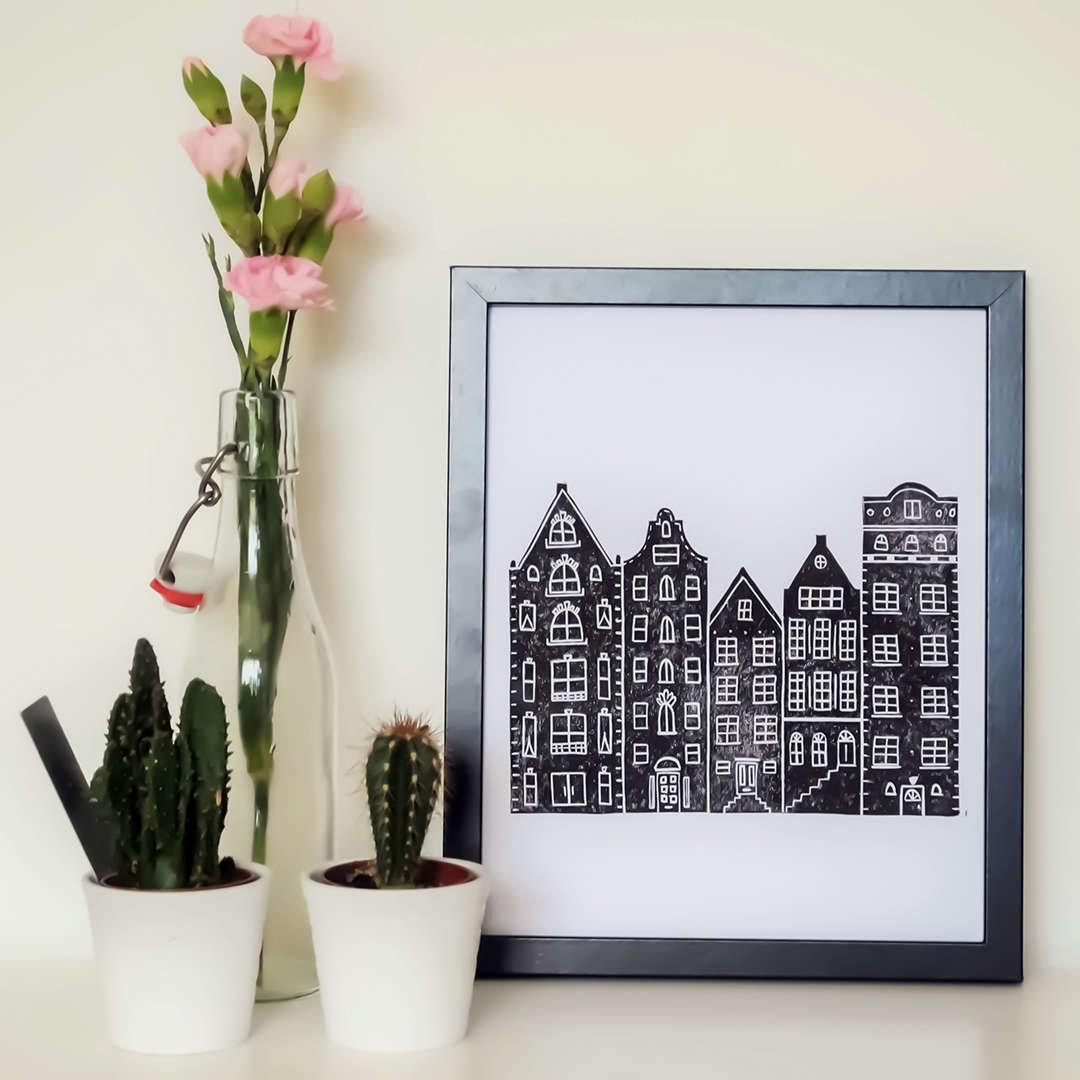 Amsterdam Print by The Delightfully Chaotic Company