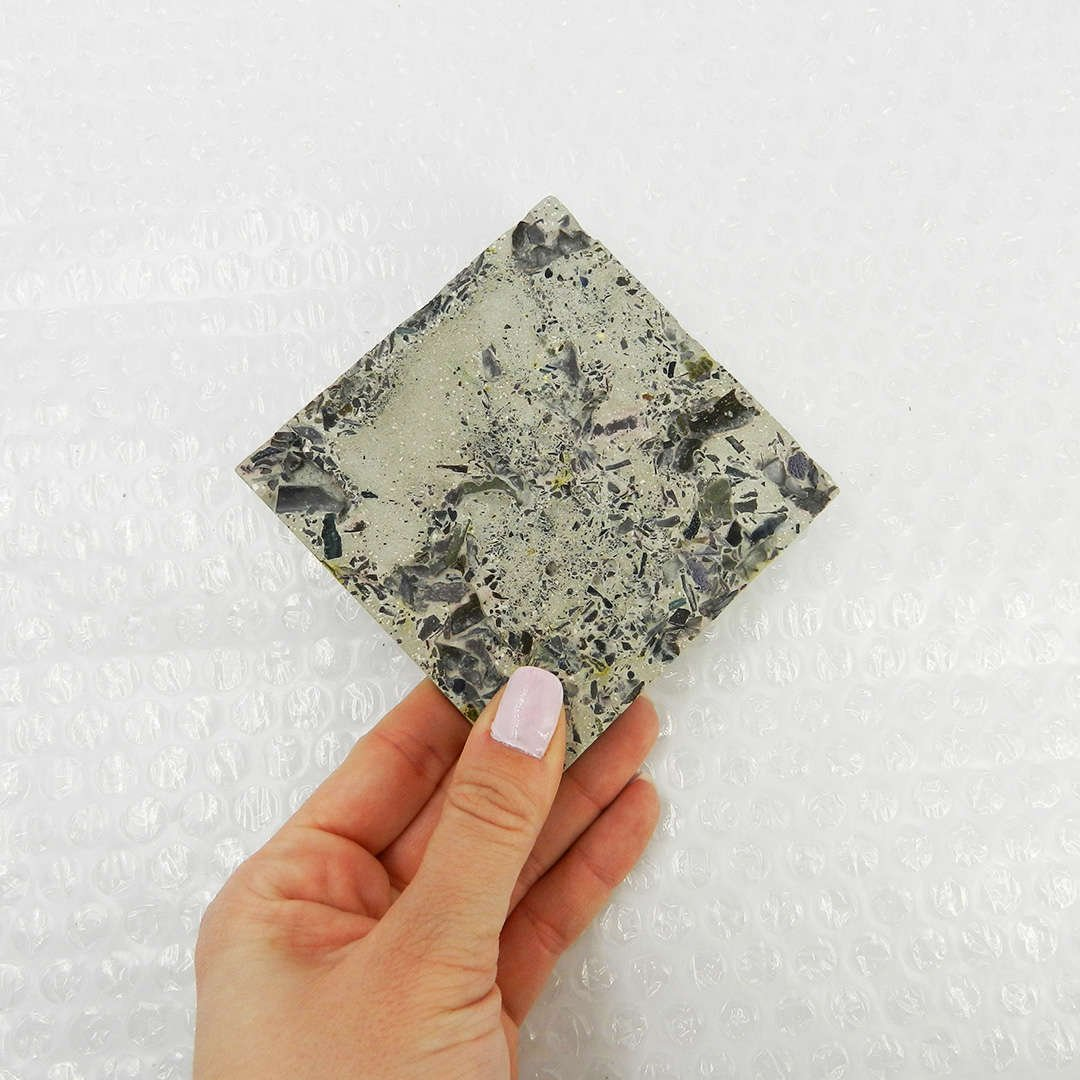 Speckled Concrete Coaster