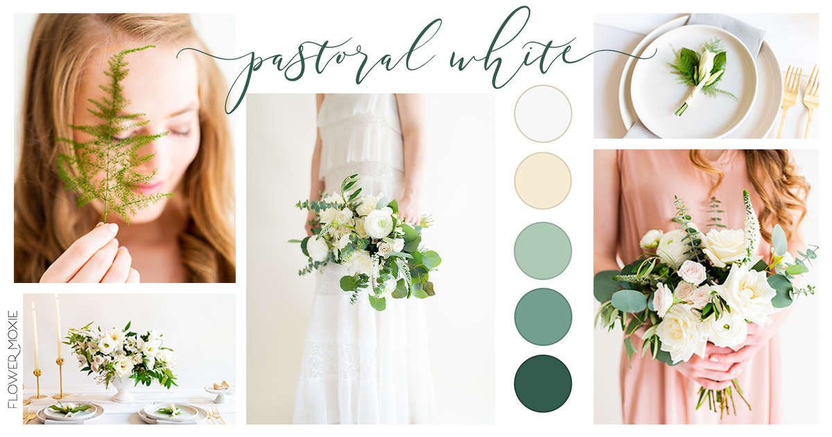 diy flowers, diy wedding, pastoral white, cream and sage, green and cream collection, green color palette, weddings under 10k, wedding planning, wedding colors