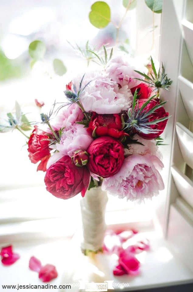 thistle, diy bride, diy wedding, diy bouquet, diy bridesmaid