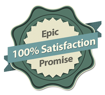 The Epic Fly Rod Total Satisfaction guarantee