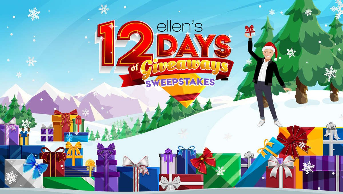 Ellen 12 Days Of Christmas Tickets.12 Days Sweepstakes