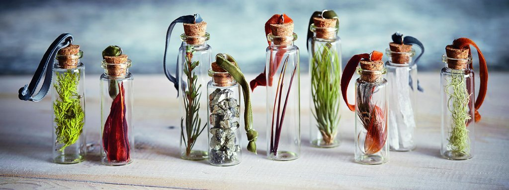 modern apothecary ornaments