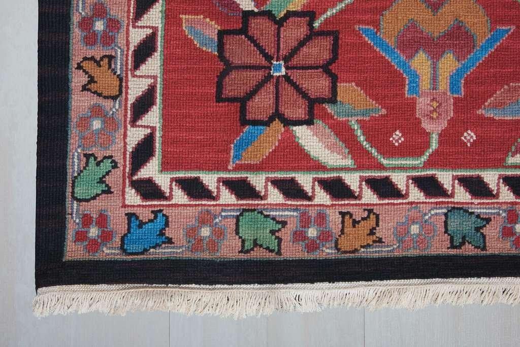 fringe traditional rug