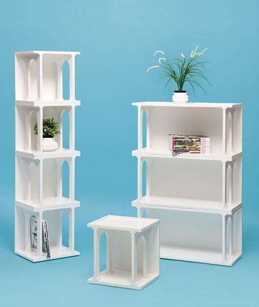 modern renaissance style bookcase