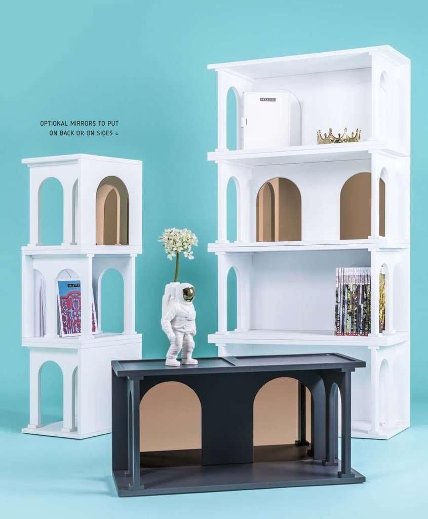 modern renaissance bookcase