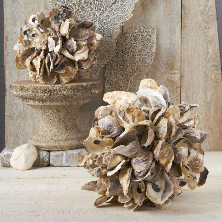 shell decorative sphere