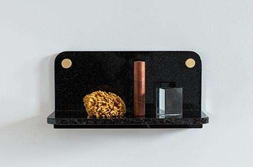 small granite shelf