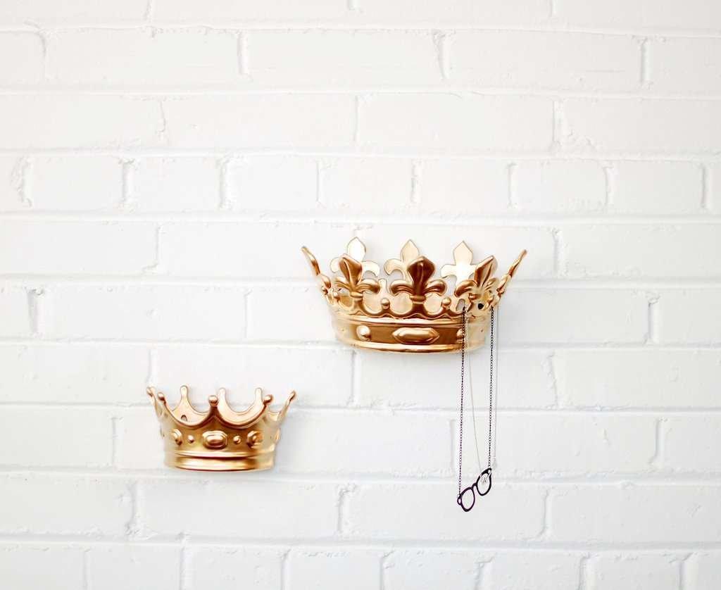 modern wall hook gold