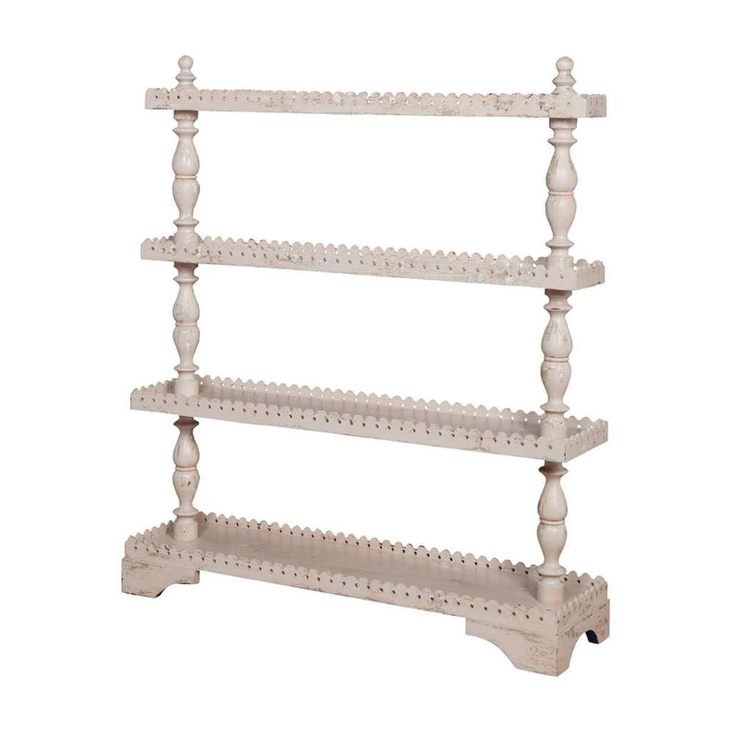 turned spindle shelf