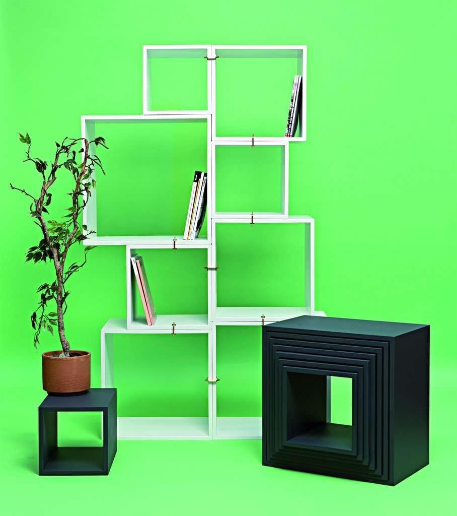 modular bookcase modern