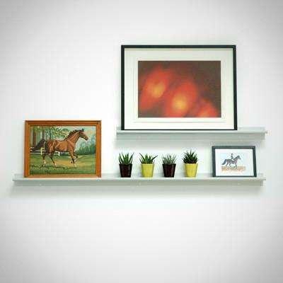 modern floating wall shelf