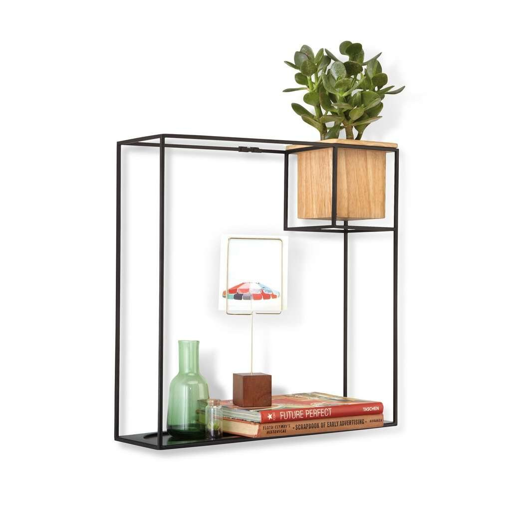 Wire Wall Shelf and Planter