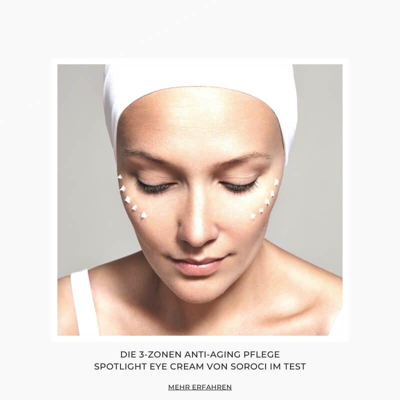 Koreanische Kosmetik von Shishi Chérie - Die 3-Zonen Anti-Aging Pflege Spotlight Eye Cream im Test