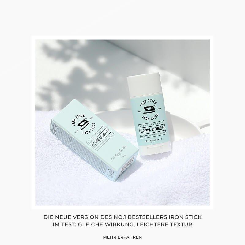 Koreanische Kosmetik von Shishi Chérie - Der neue Iron Stick Light Texture im Test