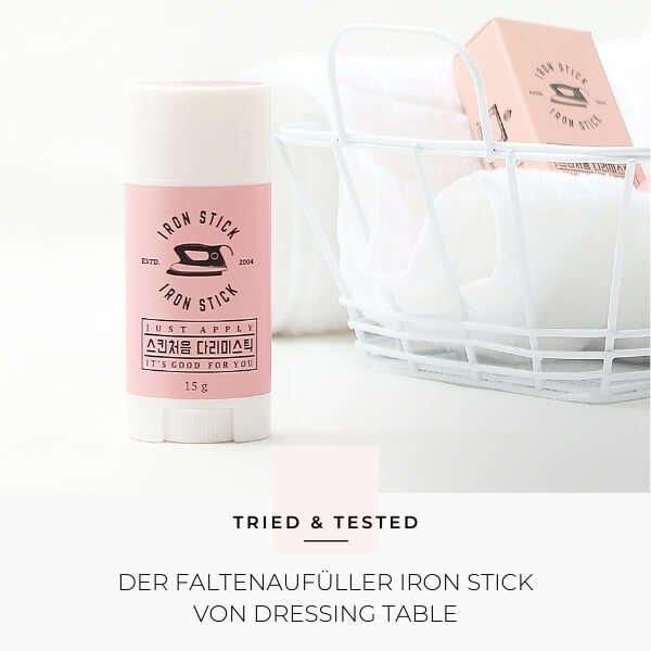 Koreanische Kosmetik: Iron Stick von Dressing Table im Test