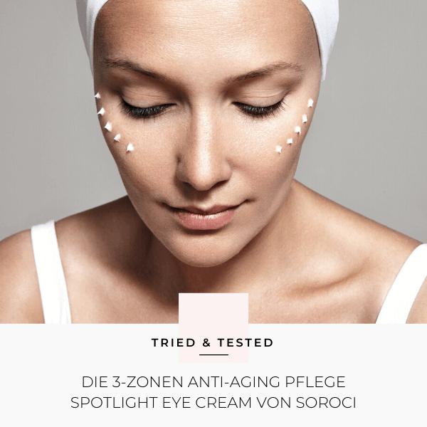 Koreanische Kosmetik:Spotlight Eye Cream von Soroci im Test